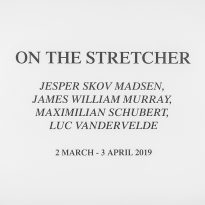 Luc Vandervelde Lux - On the stretcher